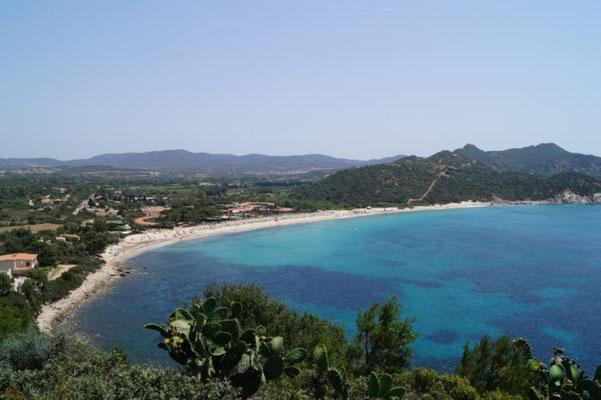 Zwischen Cagliari und Villasimius