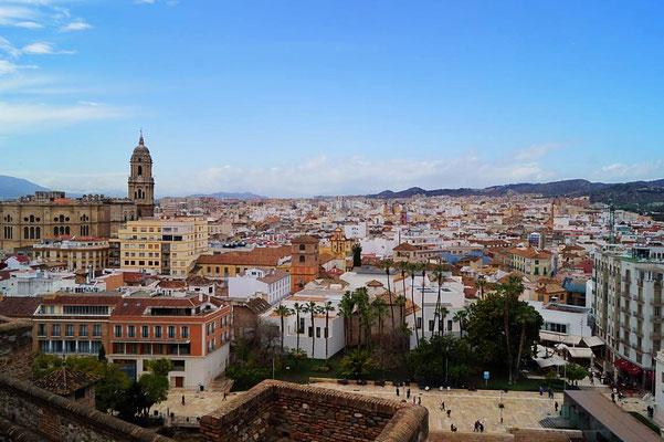 Malaga vom Alcazaba