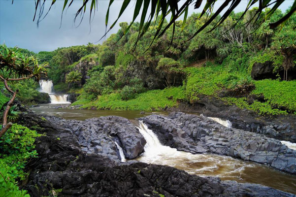 7 Pools - bei Hana, Maui
