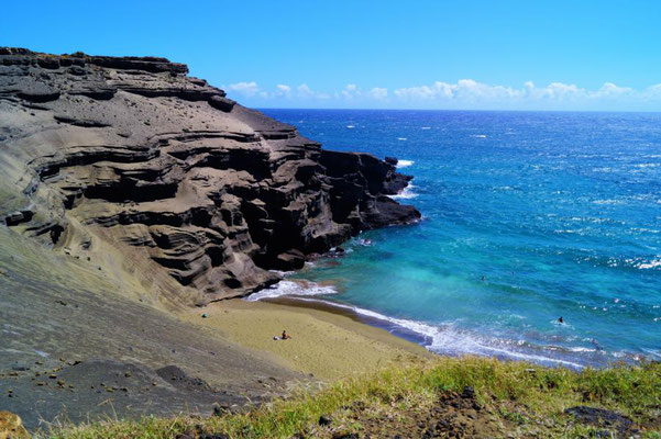 GREEN BEACH, Big Island