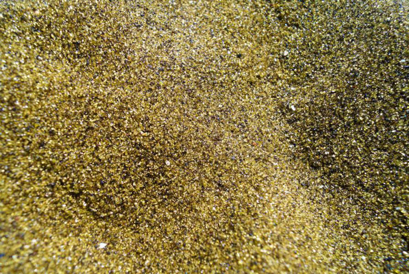 grüner Sand am Papakolea