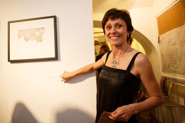 ko[s]misch! / ausstellung in der galerie sandpeck, wien / foto (c) maria hollunder