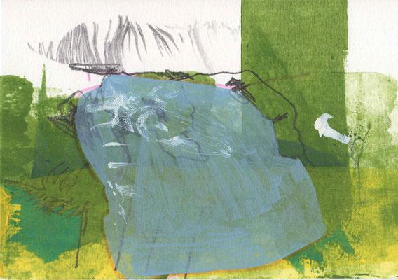 OHNE TITEL / 21 x 15 cm / 2014 / mischtechnik auf papier