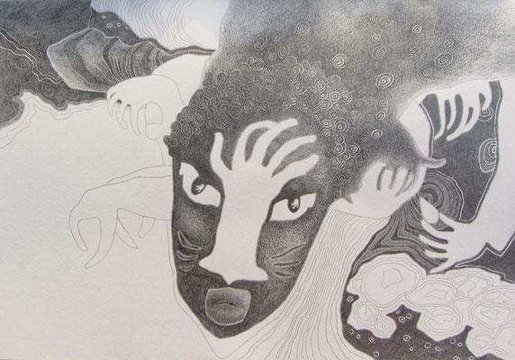 GHANA 2 / 29,5 x 20,5 cm / 2012 / bleistift auf papier