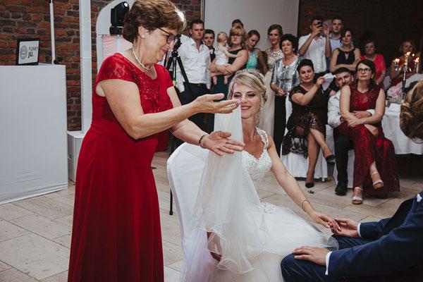 Schleierabnahme russische Hochzeit
