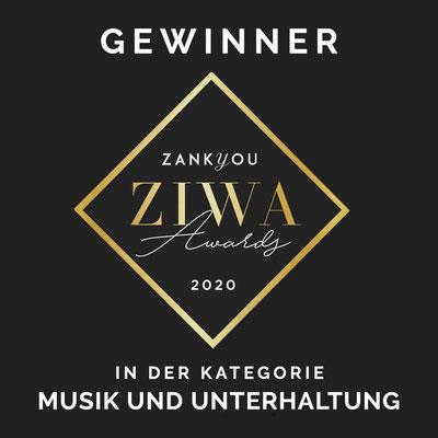 Tamada Hochzeit Hochzeitsmoderatorin Gewinner ZIWA Awards
