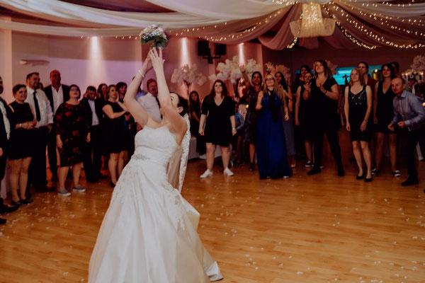 Hochzeitsmoderation Brautstrauß