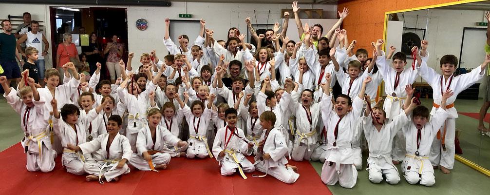 Internes Jigoro Kano Judoturnier in Regensdorf