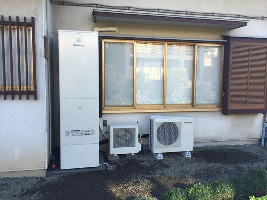 富士市 エコキュート工事 パナソニック フルオート