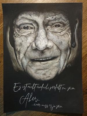 2019 RIP Niki Lauda - Acryl