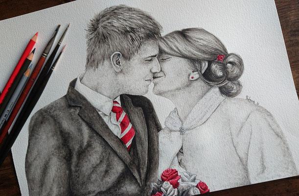 2020 Xenia und Fabian - Acryl