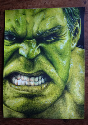 2020 Hulk - Acryl
