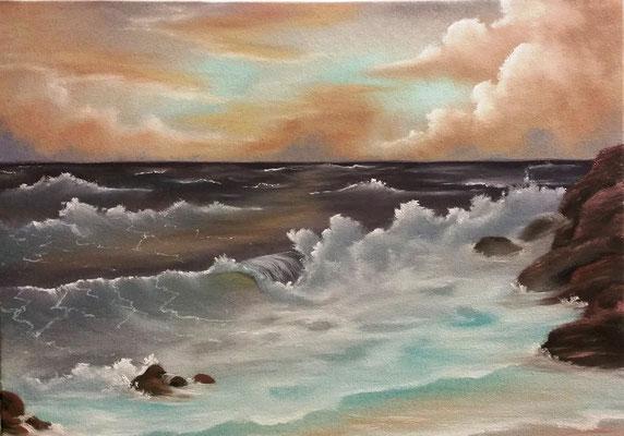2016/10 Seascape - Tag 1