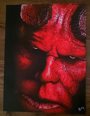2019 Hellboy - Acryl