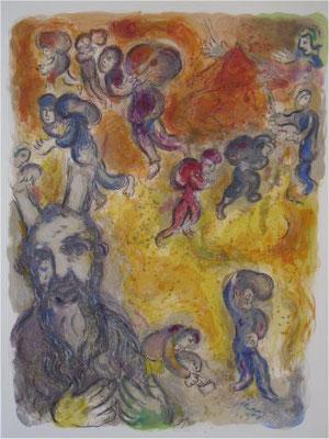 Toen Mozes ouder werd zag hij de nood van zijn broeders [446]