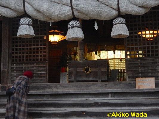 城上神社。