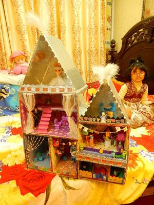 人形の家も豪華