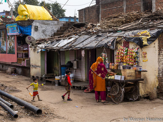 Slums in Bhopal