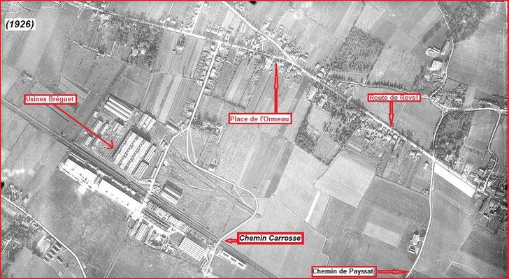 1941 - Ce qui sera plus tard le quartier 5.1 de Toulouse