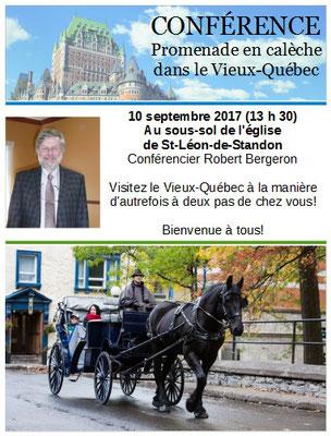 Conférence du 10 septembre 2017