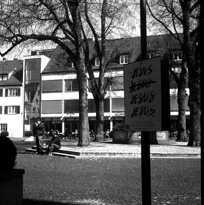 Straßenszene in Ulm