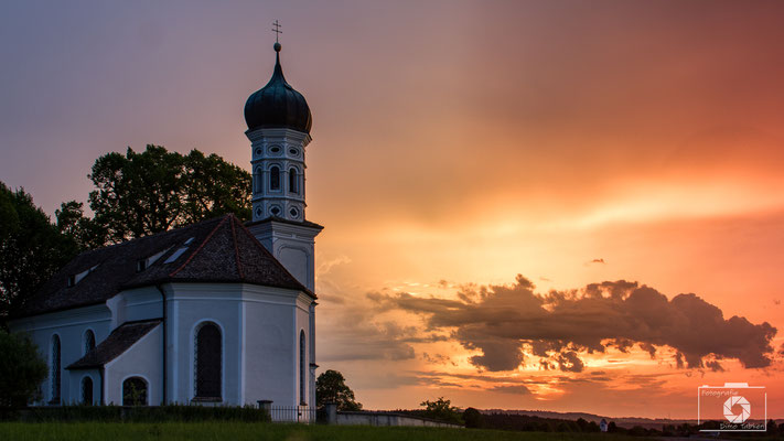 Juli 2017 - St. Andreas in Etting in Oberbayern