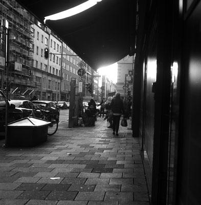 Straßenszene in München