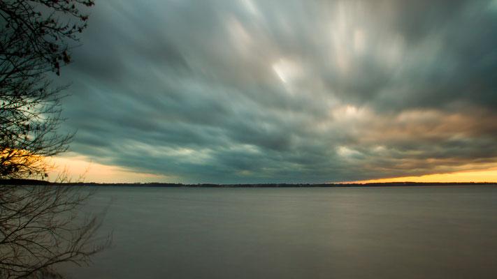 Mai 2016 - Abendstimmung am Schweriner See