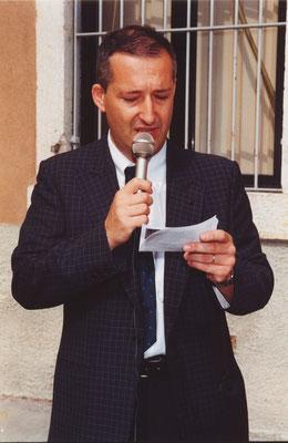 Il Presidente Tiziano Tarolli