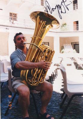 Luigino Tamiozzo. Tuba.