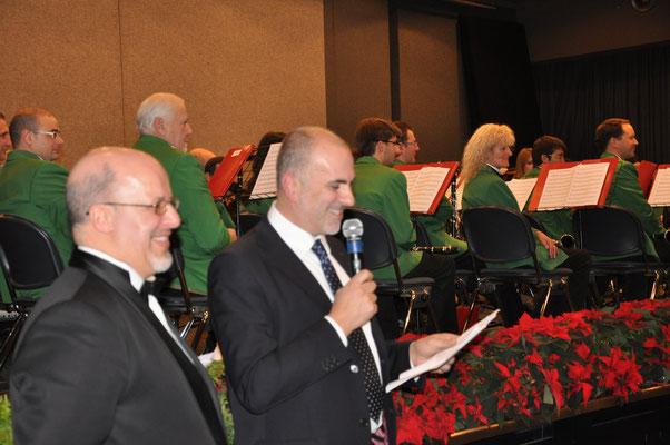 Maestro Mario Lutterotti e Presidente Marco Pauletti