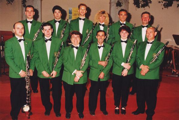 La sezione clarinetti