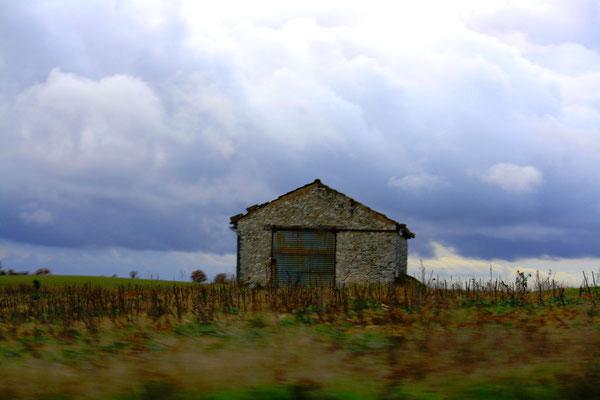 Sur la route vers Corde, France 17