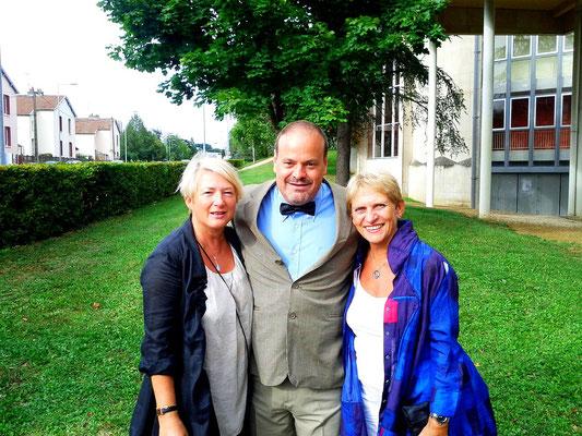 Anne-Marie, Stéphane & Guilaine, Dijon, France