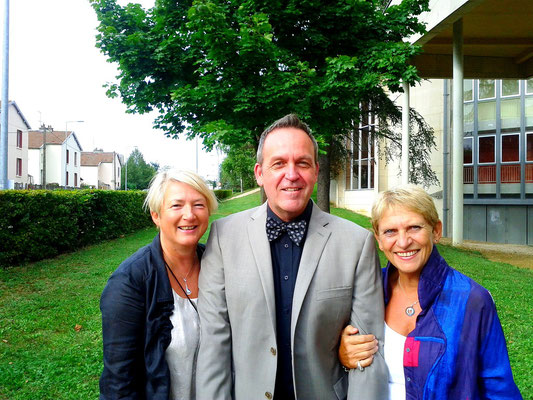 Anne-Marie, Joseph & Guilaine, Dijon, France