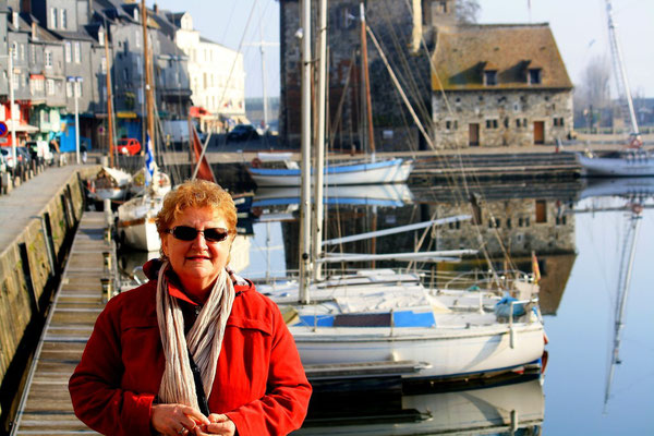 Maman à Honfleur, Bretagne