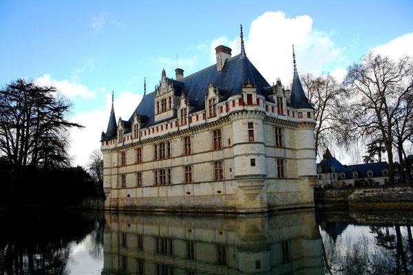 Château Azay-le-Rideau, La Loire 98