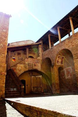 San Gimignano, Italie 43