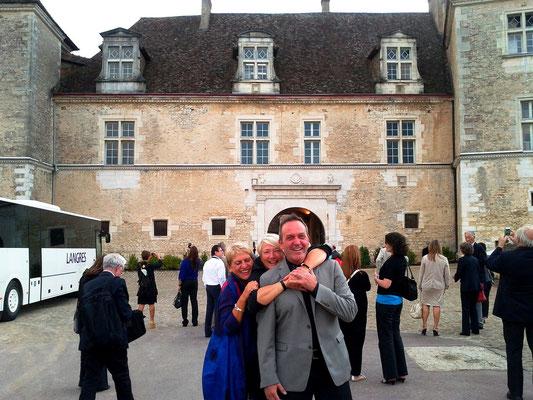 Guilaine, Anne-Marie & Joseph, Château Clos Vougeot, France
