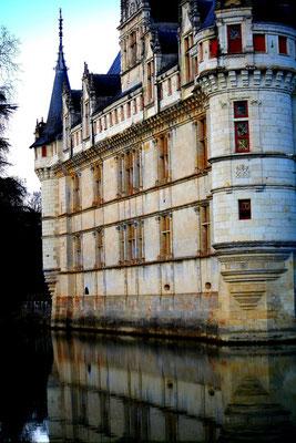 Château Azay-le-Rideau, La Loire 96