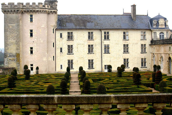 Château de Villandry, La Loire 55