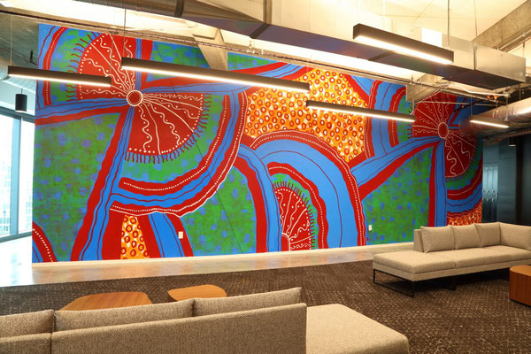 Mural by Charmaine Minniefield