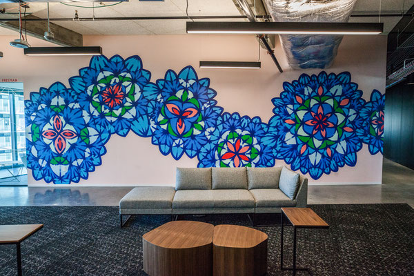 Mural by Molly Rose Freeman; Photo by Cliff Robinson