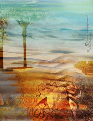 Surreale Landschaft, 2011, Unikat