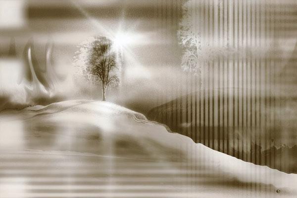 """""""Landschaft"""", 100x70 cm, unverkäuflich"""