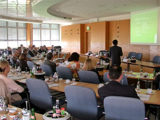 在德国中央药检所做关于中药饮片质量控制的学术报告