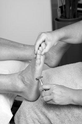 Fußpflege, Diabetikerfußpflege