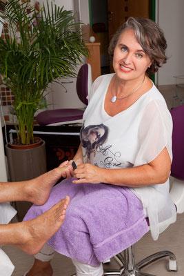 Karin Gaiblinger seit vielen Jahren mit Leidenschaft zum Beruf
