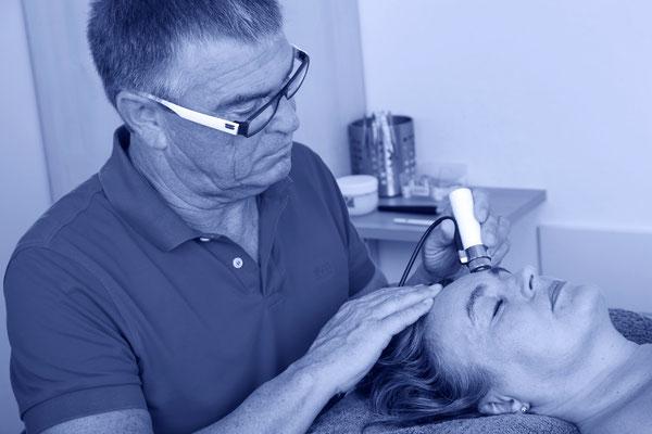 Meso Therapie einschleusen bis 2cm Hauttiefe