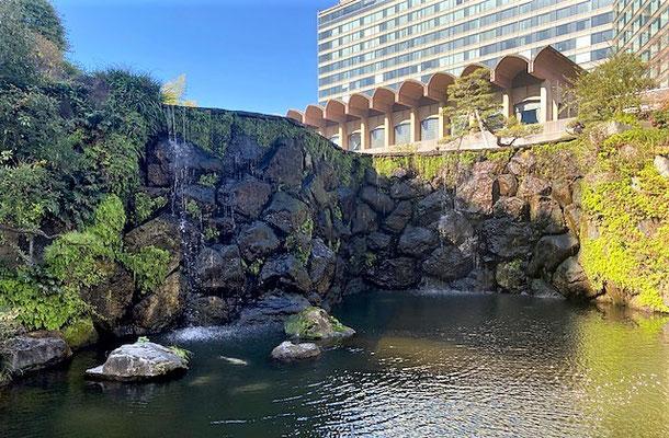 50代一人旅 ニューオータニ日本庭園
